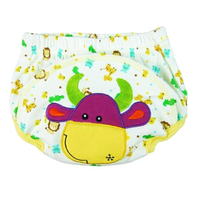 กางเกงผ้าอ้อมซับฉี่เด็ก Training Pant ลายวัว size 80 90 100