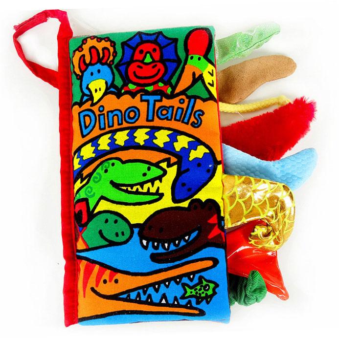 หนังสือผ้า Dino Tail by Jollybaby