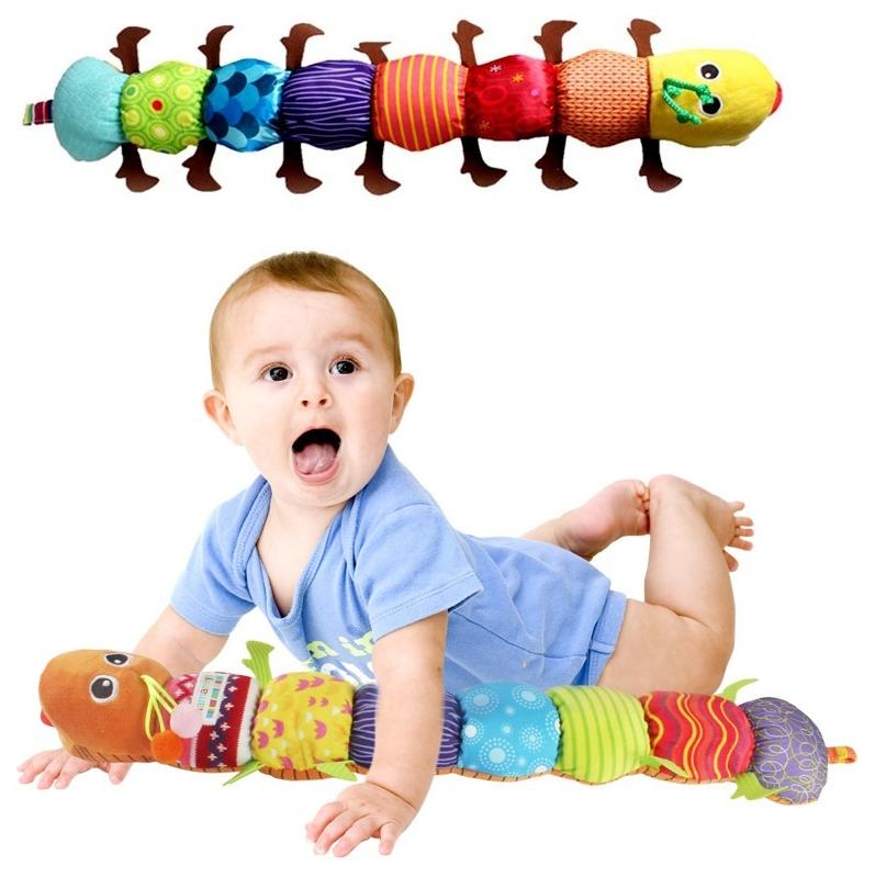 ตุ๊กตาหนอนดนตรี Musical Inchworm เสริมพัฒนาการ