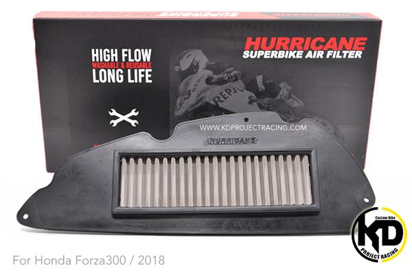 กรองอากาศ Hurricane แบบสแตนเลส For Forza 300 / 2018