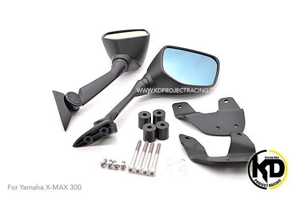 กระจกติดหน้าYamaha XMAX 300 เลนส์กรองแสงสีฟ้า