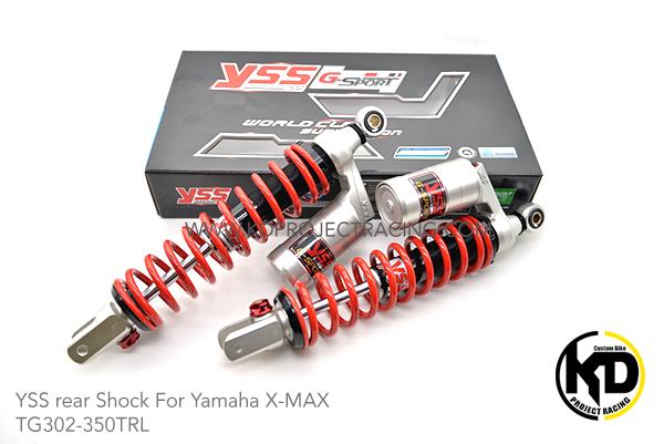 โช๊คหลัง YSS TG302-350TRL G Sport For YAMAHA X MAX300