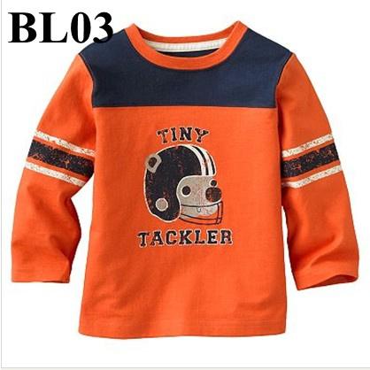 (BL03) เสื้อแขนยาว ไซส์ 2T (ผ้าดีมาก หนา นิ่ม สำหรับเด็ก 2-3ขวบ)