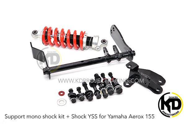 ชุดแปลงโช๊คเดี่ยว Yamaha Aerox 155