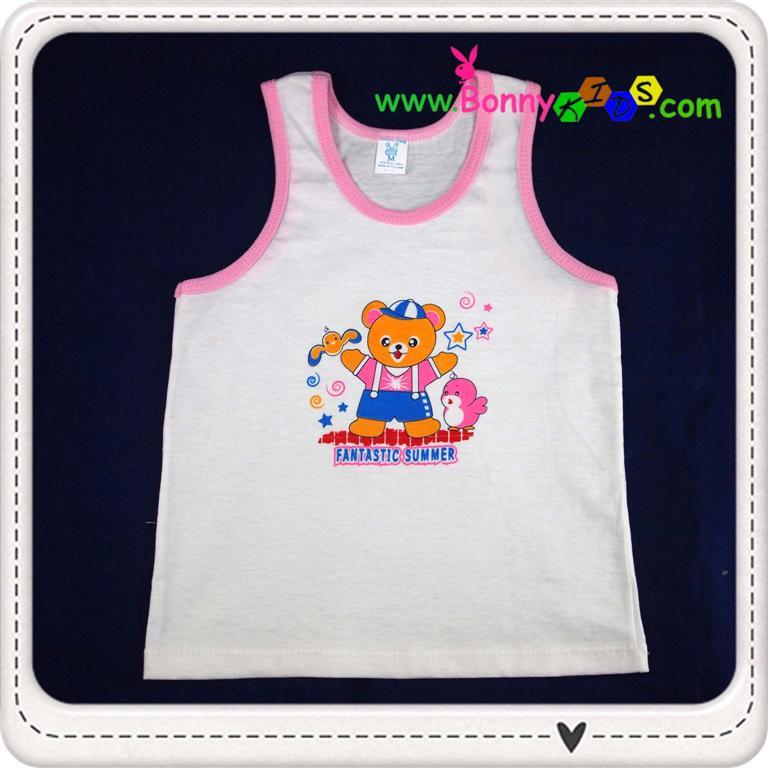 เสื้อกล้ามเด็ก size 3-6 m (แพ็ค 12 ตัว)