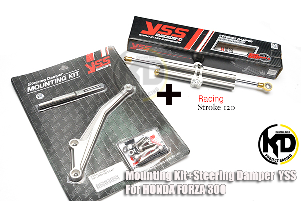 FORZA300 กันสบัด YSS Racing พร้อมขากันบัด for Honda Forza300
