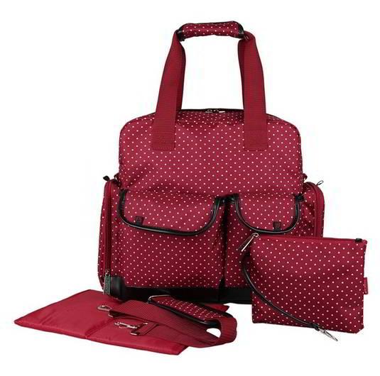 Ecosusi กระเป๋าเป้คุณแม่ กระเป๋าสัมภาระคุณแม่ ใช้ได้ 3 แบบ หิ้ว-พาดลำตัว-สะพายหลัง ใบใหญ่ ทนทาน ช่องใส่ของเยอะ