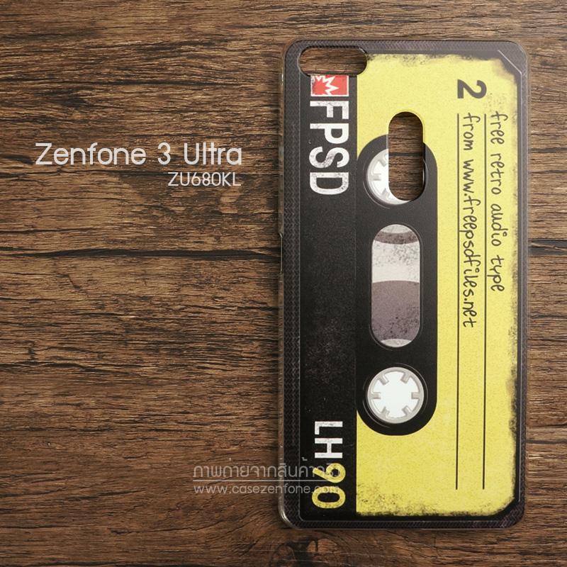 เคส Zenfone 3 Ultra (ZU680KL) เคสแข็งพิมพ์ลาย แบบที่ 4
