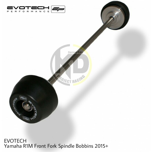 EVOTECH กันล้มหน้า FRONT FORK SPINDLE BOBBINS For YAMAHA YZF R1 2015+
