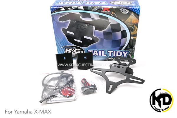 R&G ท้ายสั้นมีชุดปิดหัวโช๊คกันขโมยมาในชุด Tail Tidy for Yamaha X-Max 300