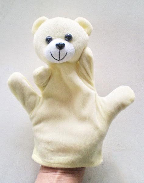 ตุ๊กตามือ หุ่นมือรูปหมีน้อย