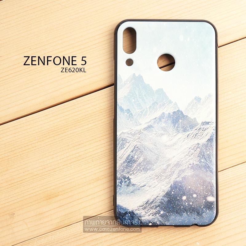 เคส Zenfone 5 (ZE620KL) เคสนิ่ม TPU พิมพ์ลาย (ขอบดำ + พร้อมสายคล้องมือถือ) แบบที่ 9