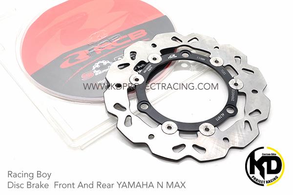 จานดิสหน้ามหลัง230mm Racing Boy Disc Brake Front หน้า YAMAHA N MAX