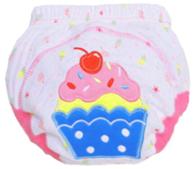 กางเกงฝึกฉี่ (เป้าหนา3ชั้น) size L -Cup Cake