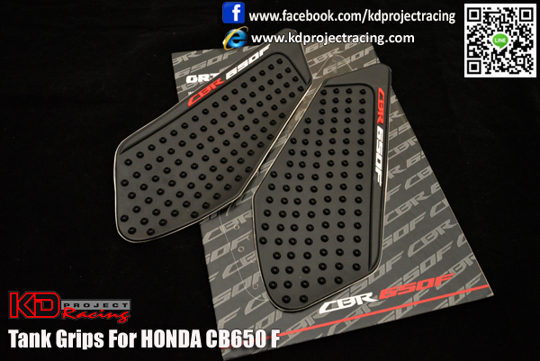 NAKED Japan Tank Grips CB650F - KD PROJECT RACING