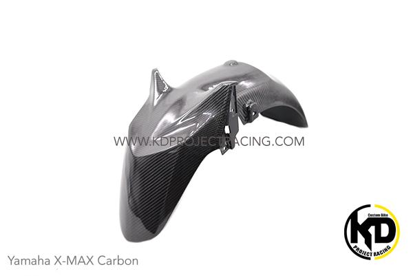 Yamaha X-MAX300 งานหุ้ม Carbon บังโคลนหน้า