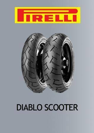 Pirelli diablo scooter 120+140/70/14 For Yamaha Aerox 155