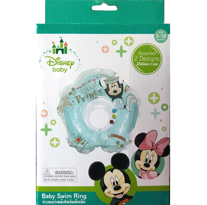 ห่วงคอว่ายน้ำสำหรับเด็กเล็ก Mickey Mouse ลิขสิทธิ์แท้