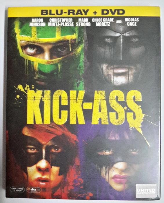 (Blu-Ray) Kick-Ass (2010) เกรียนโคตรมหาประลัย (Combo Set Blu-ray + DVD)