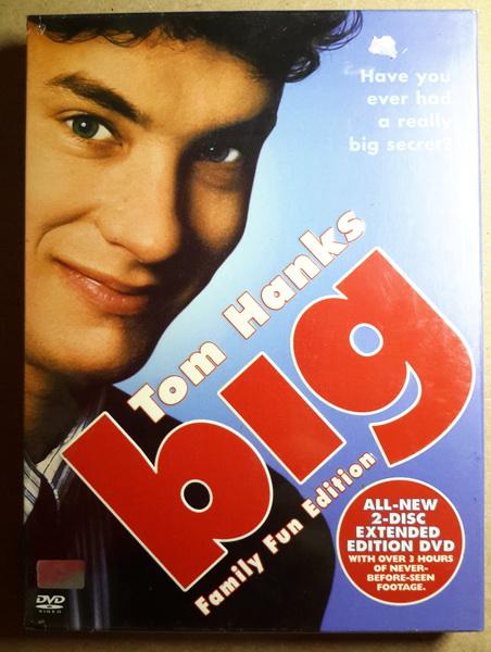 (DVD 2 Discs) Big (1988) บิ๊ก อยากโตก็ได้โต