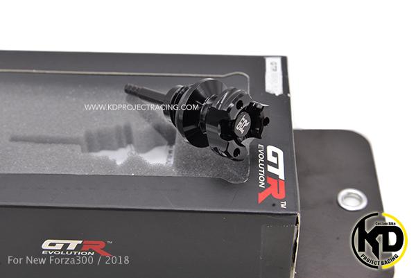 น๊อคเติมน้ำมันเครื่อง GTR สีดำ For Honda Forza 300/2018
