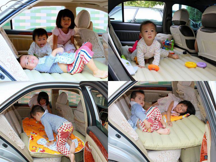 ที่นอนในรถยนต์ เปลี่ยนเบาะหลังรถให้เป็นเตียงนอน Car Air Bed