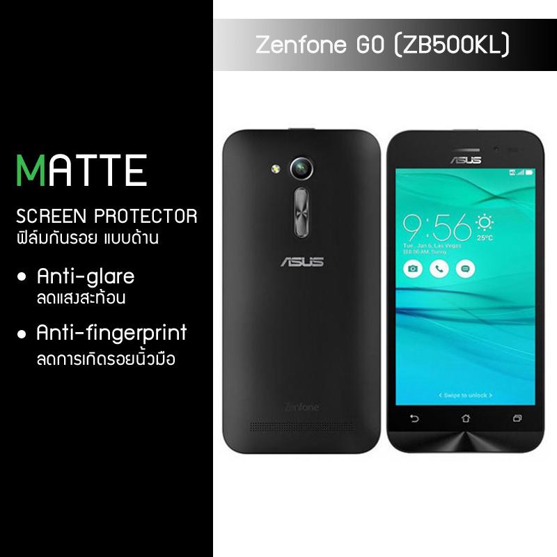 ฟิล์มกันรอย Zenfone GO 5.0 (ZB500KG / ZB500KL) แบบด้าน