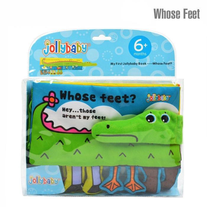 หนังสือผ้า Whose Feet? - Hey...those aren't my feet!