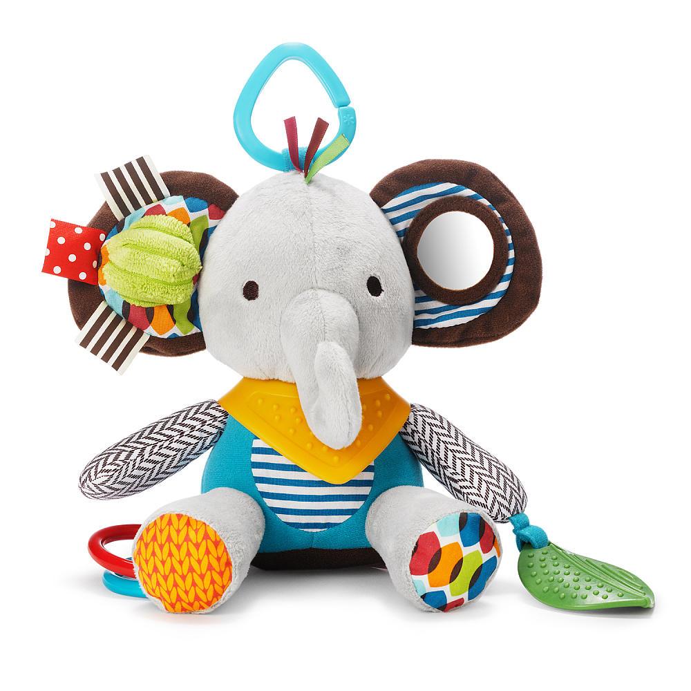 ตุ๊กตาโมบายผ้าเสริมพัฒนาการ รูปช้าง SKK Baby รุ่น BANDANA BUDDIES activity toy - Elephant