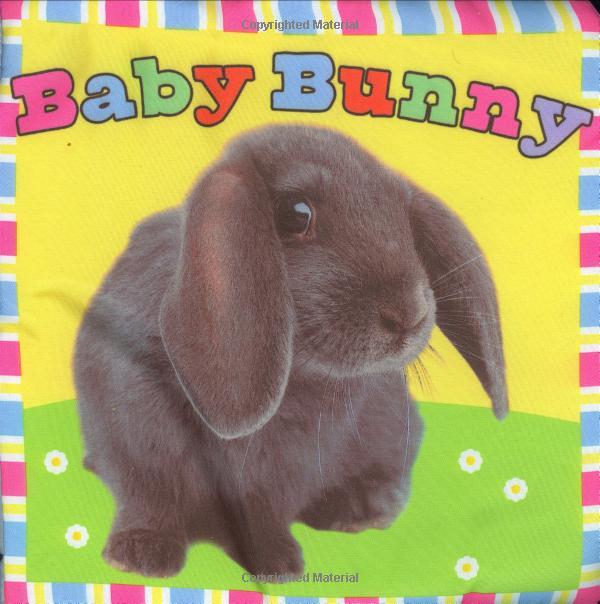 หนังสือผ้า Baby Bunny จาก Priddy Books