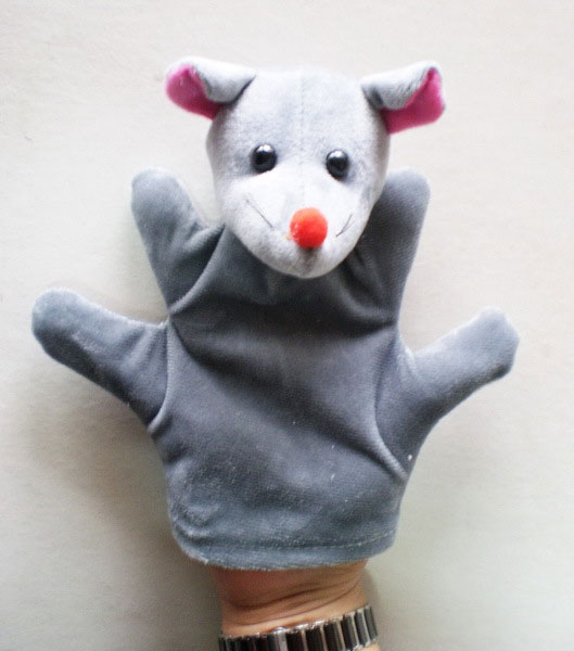 [ลดพิเศษ] ตุ๊กตามือ หุ่นมือรูปหนู