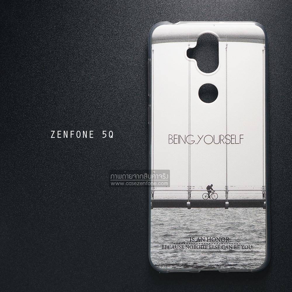 เคส Zenfone 5Q (ZC600KL) เคสนิ่ม TPU พิมพ์ลาย แบบที่ 3