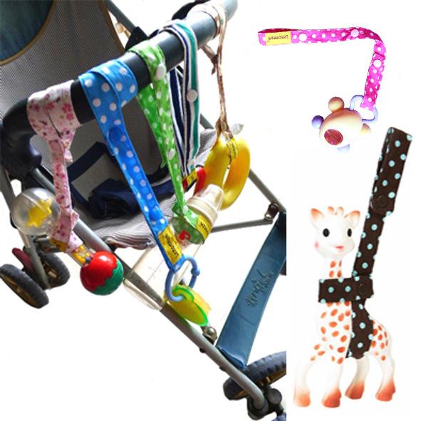 สายริ้บบิ้นคล้องยีราฟโซฟี Lemommon คล้องของเล่น ขวดนม ติดรถเข็น เป้อุ้มเด็ก