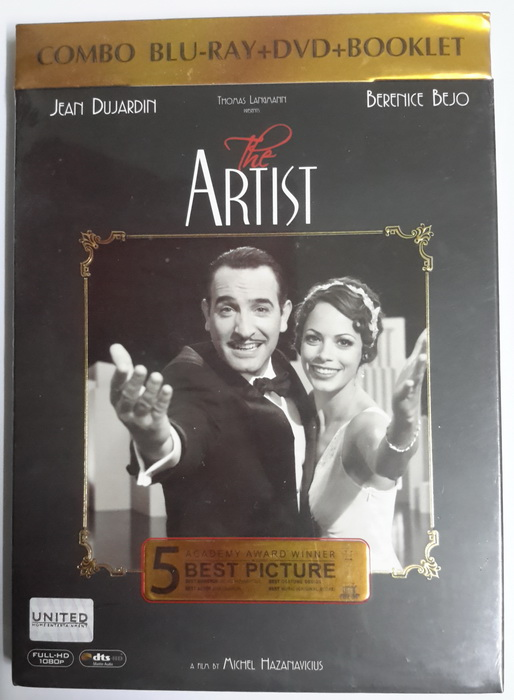 (Blu-Ray) The Artist (2011) ดิ อาร์ทิสต์ บรรเลงฝัน บันดาลรัก (BD+DVD+Booklet)