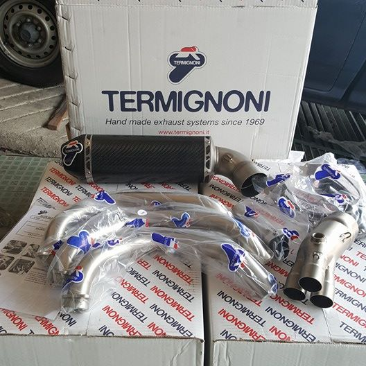 Termignoni Muffler full system carbon for Yamaha MT09