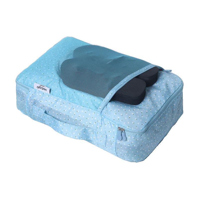 กระเป๋าจัดระเบียบ จัดกระเป๋าเดินทาง ใส่เสื้อผ้า ชุดชั้นใน เครื่องสำอาง อุปกรณ์ไอที มีให้เลือก 6 ลาย 6 สี