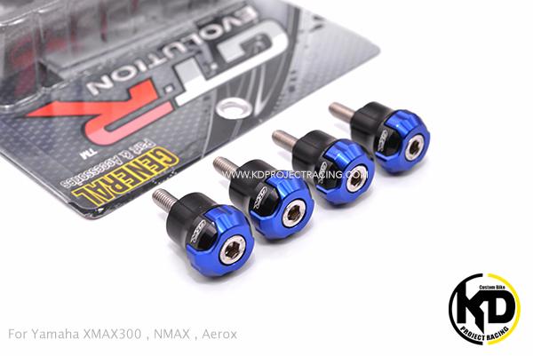 บูชบังโคลนหน้าแต่ง GTR Yamaha XMAX300 , NMAX , Aerox