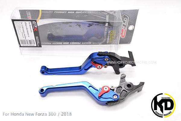 ก้านเบรก GTR สีน้ำเงิน For Honda Forza 300/2018