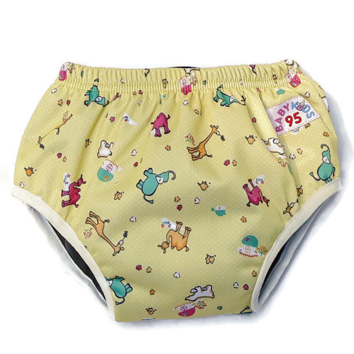 Day Pants Size L-รุ่นชาโคล (Yellow-Zoo)