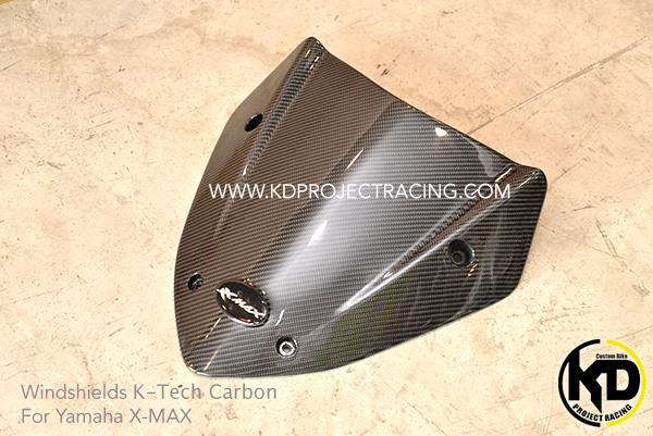 ชิวหน้า K-TECH Sport Carbon ลาย2 for Yamaha X-MAX 300
