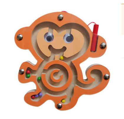 ของเล่นไม้ เกมกระดานเขาวงกต+ปากกาแม่เหล็ก สร้างเสริมพัฒนาการ