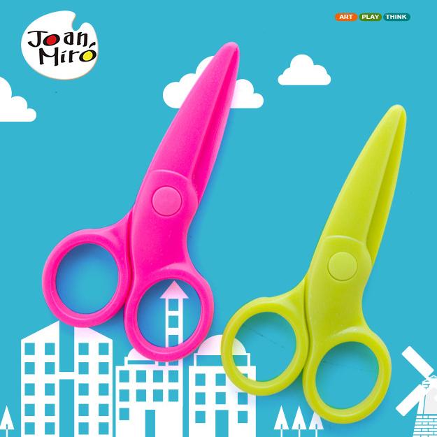 กรรไกรสำหรับเด็ก Joan Miro ไม่บาดมือ ไม่ตัดนิ้วเด็ก
