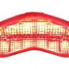 2014-2015 Ducati Monster 821/1200 LED Tail Lights with Integrated Alternating Sequential LED Signals in Smoke Lens