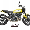 ท่อ SC Project รุ่น CR-T Carbon Slip on Ducati Scrambler