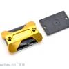 ฝาปั้มดิสคู่บน GTR สีทอง for FORZA300 2014-18
