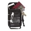 กระเป๋าใส่พาสปอร์ตแบบห้อยคอ ป้องกันการขโมยข้อมูลบัตรเครดิตด้วยคลื่น RFID มี 3 สีให้เลือก