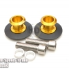 สปูนสวิงอาร์ม Swing Arm Spools 8 mm Gold For Kawasaki Z800,ZX10R