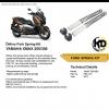 Ohlins Sping Kit For Yamaha X-MAX - FSK 131