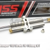 กันสะบัด YSS RACING STEERING DAMPER 78mm. STROKE PLATINUM หูตรง B BLACK