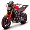 ชิวหน้าสีดำ Zero Gravity Windscreen Yamaha MT-09 / FZ-09, 2015+ Fairing Black screen Internediate Height